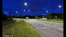 Council unveils UK's first LED street lights